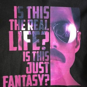 Queen Bohemian Rhapsody Freddie Mercury T-shirt